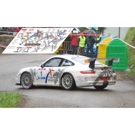 Porsche 911 997 - Rally Cantabria Infinita 2009 nº1