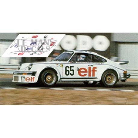Porsche 934 - Le Mans 1976 nº65