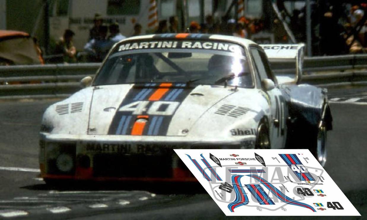Porsche 935 Le Mans 1976 Nº40 Lemansdecals