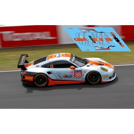 Porsche 911 RSR - Le Mans 2017 nº86
