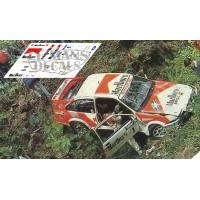 Ford Escort Cosworth - Rallye Llanes 1988 nº1