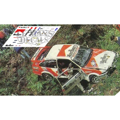 Ford Escort Cosworth - Rallye Llanes 1988 nº1