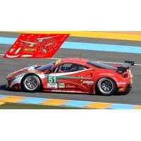 Ferrari 458 Italia - Le Mans 2012 nº51