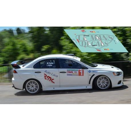 Mitsubishi EVO X -  Rally El Bierzo 2015 nº1
