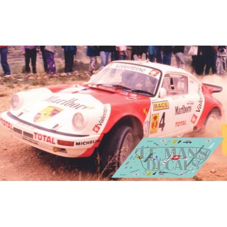 Porsche 911 Proto 4x4 - Rally Tierra San Vicente 1991 nº4