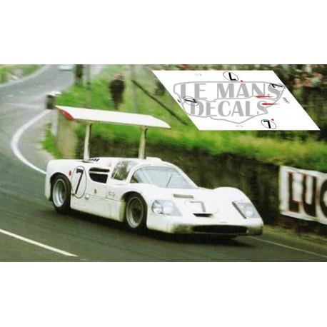 Chaparral 2F - Le Mans 1967 nº7