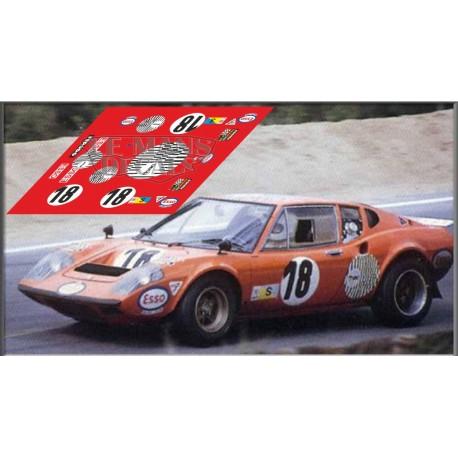 Ligier JS2 - Le Mans 1973 nº18