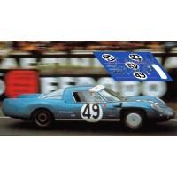 Alpine A210 - Le Mans 1967 nº49