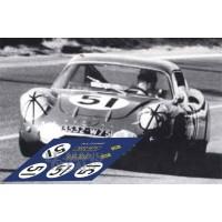 Alpine M64 - Le Mans 1965 nº51