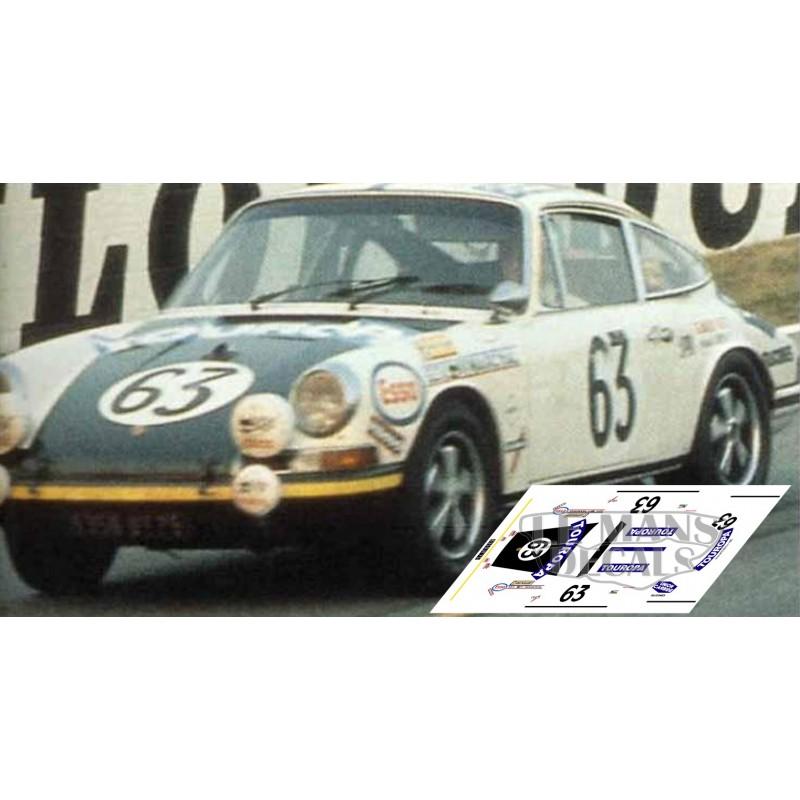 Cooper Auto Sales >> Porsche 911S - Le Mans 1969 nº63 - LEMANSDECALS