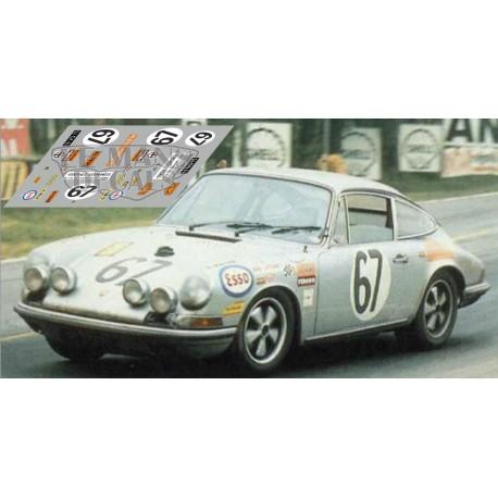 Porsche 911S - Le Mans 1969  nº67