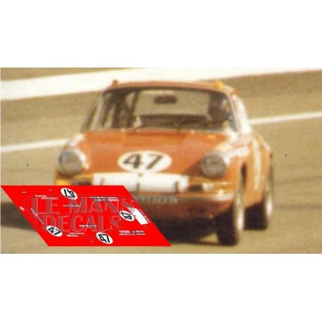 Porsche 911S - Le Mans 1971 nº47