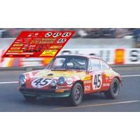 Porsche 911S - Le Mans 1972 nº45