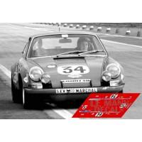 Porsche 911S - Le Mans 1971 nº34