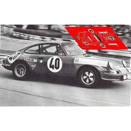 Porsche 911S - Le Mans 1972 nº40
