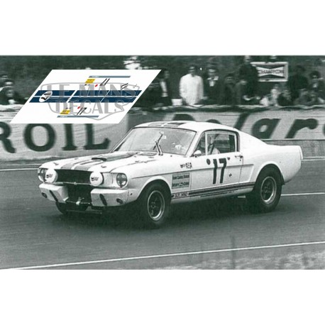 Ford Mustang Gt350 Le Mans 1967 N 186 17 Lemansdecals