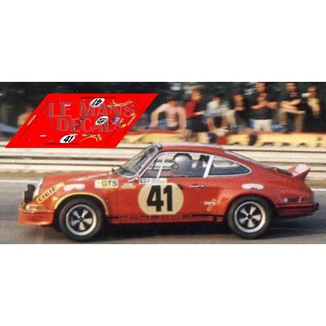 Porsche 911 Carrera RS - Le Mans 1973 nº41