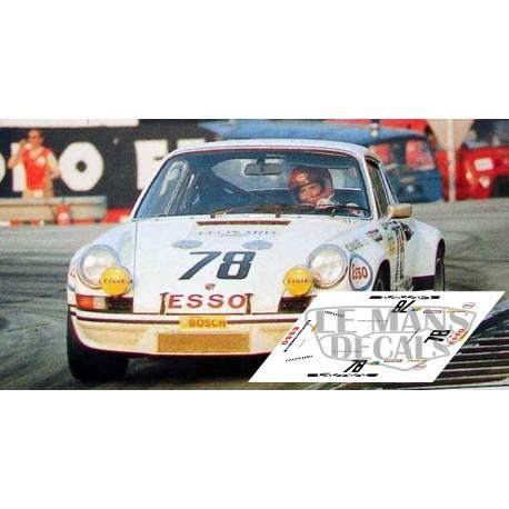 Porsche 911 Carrera RS - Le Mans 1973 nº78