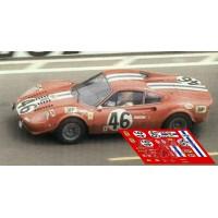 Ferrari Dino 246 GT - Le Mans 1972 nº46