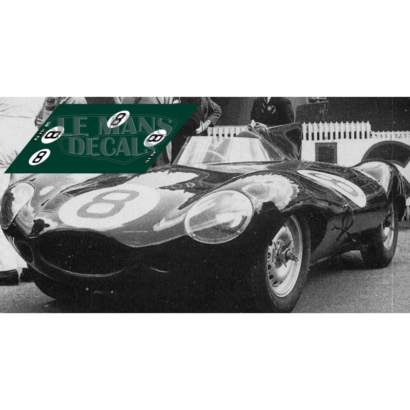 Le Mans 1955 Nº8