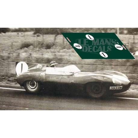 Jaguar D Type - Le Mans 1956 nº1