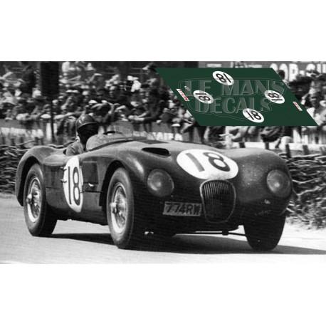 Jaguar C Type - Le Mans 1953 nº18