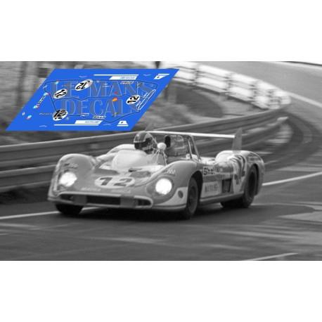 Matra MS 660C - Le Mans Test nº12