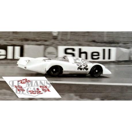 Porsche 917 LH - Le Mans test 1970 nº22