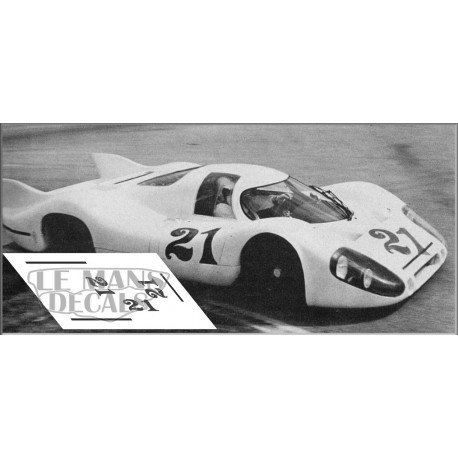 Porsche 917 LH - Le Mans test 1970 nº21