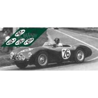 Aston Martin DB3S - Le Mans 1953 nº26