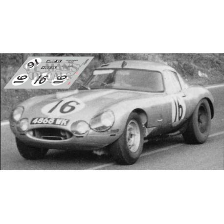 Jaguar E Type Lightweight - Le Mans 1964 nº16