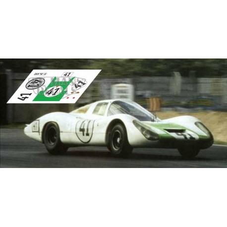 Porsche 907 - Le Mans 1967 nº41