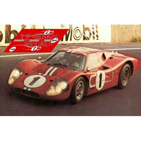 Ford MkIV - Le Mans 1967 nº1