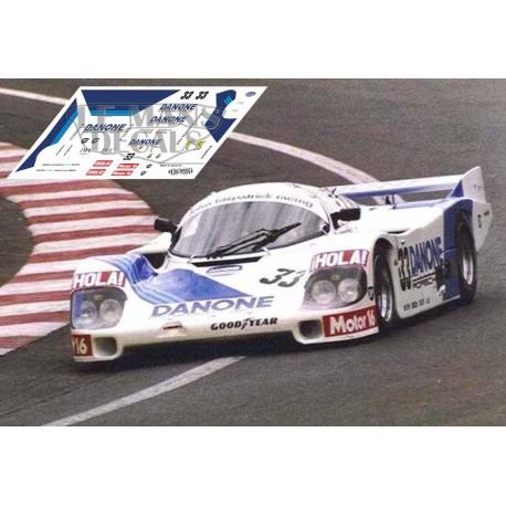 Porsche 956C - Le Mans 1986 nº33