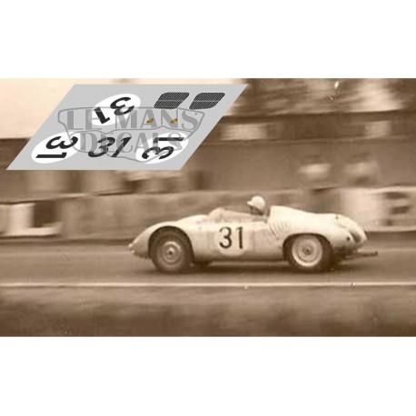 Porsche 718 RSK - Le Mans 1959 nº31