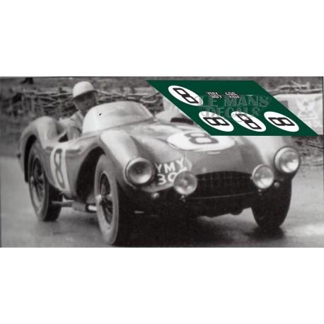 Aston Martin Db3s Le Mans 1954 N8 Lemansdecals