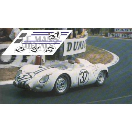 Porsche 718 RSK - Le Mans 1959 nº37