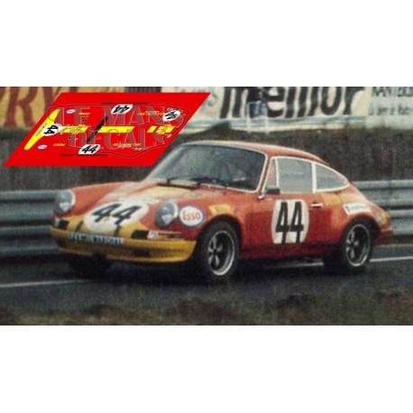 Porsche 911S - Le Mans 1972 nº44