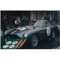 Aston Martin DB4 GT - Le Mans 1959 nº21