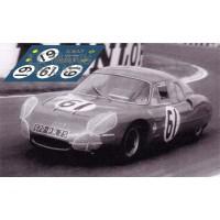 Alpine M63B - Le Mans 1965 nº61