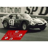 Alfa Romeo TZ2 - Le Mans 1965 nº41