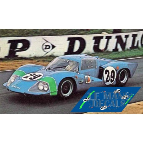 Matra MS630 - Le Mans 1967 nº29