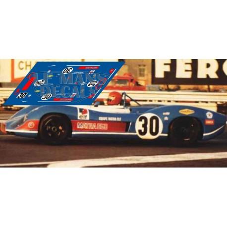 Matra MS 650 - Le Mans 1970 nº 30