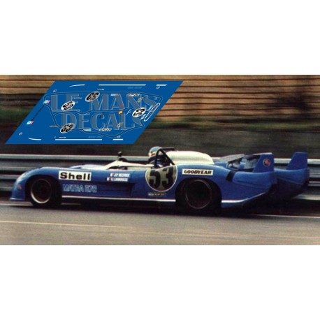 Matra MS 670B - Le Mans Test 1973 nº53
