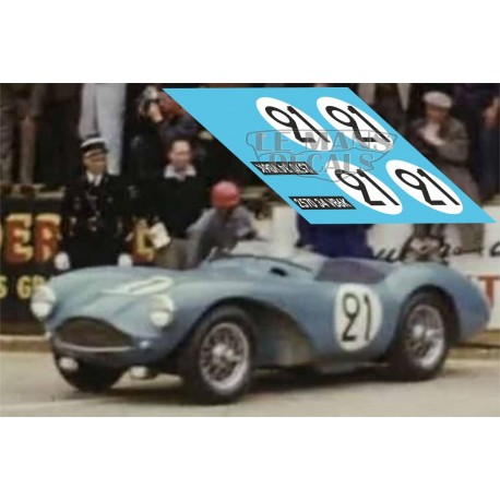 Aston Martin DB3S - Le Mans 1957 nº21