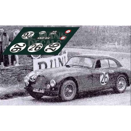 Aston Martin DB3 - Le Mans 1952 nº26