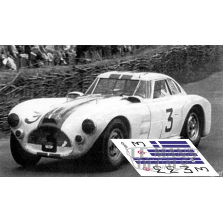 Cunningham C4 RK - Le Mans 1953 nº3