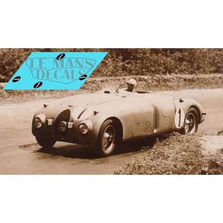 Bugatti Type 57G - Le Mans 1937 nº1
