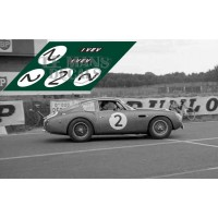 Aston Martin DB4 GT Zagato - Le Mans 1961 nº2