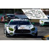 Mercedes AMG GT3 - 12h Sebring 2017 nº50